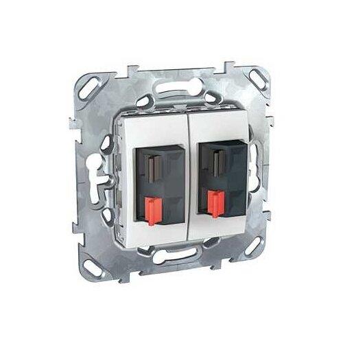 Телекоммуникационная розетка Schneider ElectricMGU5.8787.18ZD UNICA, белый