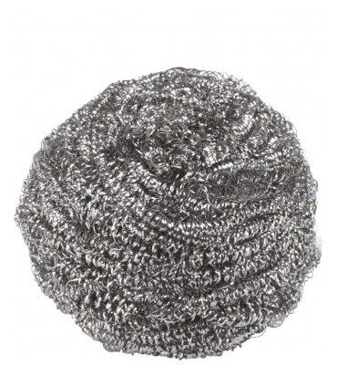 Губка металлическая 40018 серебристый
