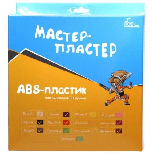 ABS пруток Мастер Пластер 1.75 мм 13 цветов 0.1 кг