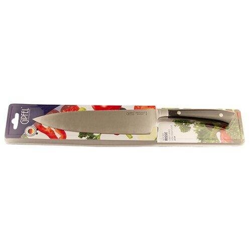 GIPFEL Нож поварской Risse 20 см черный нож поварской gipfel barocco 20 см