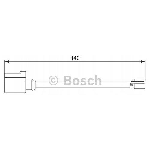 Датчик износа тормозных колодок задний Bosch 1987474566 для Porsche Cayenne, Porsche Panamera, Volkswagen Touareg