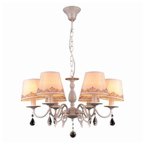 цена на Люстра Natali Kovaltseva Biarritz 70038-6C IVORY GOLD, E14, 240 Вт