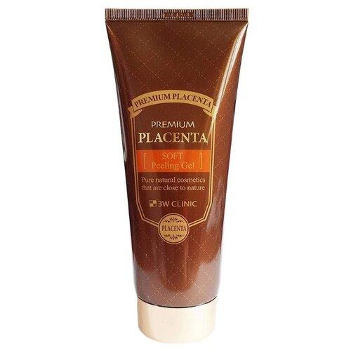 Купить 3W Clinic пилинг-гель для лица с протеинами Premium Placenta Soft Peeling Gel 180 мл