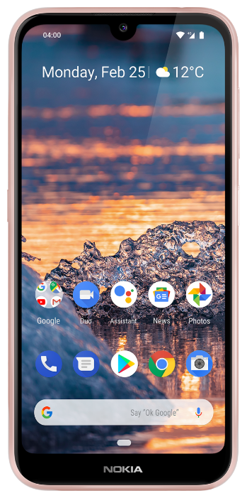 Смартфон Nokia 4.2 3/32GB Android One розовый