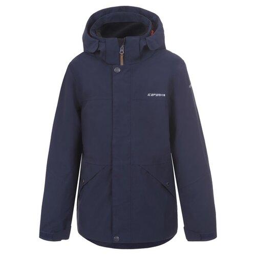 Куртка ICEPEAK Kirtorf Jr 550015575IV размер 152 , темно-синий пуховик женский icepeak цвет темно синий 253053532iv размер 46 52