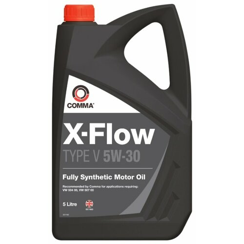 Моторное масло Comma X-Flow Type V 5W-30 5 л моторное масло comma x flow type pd 5w 40 5 л