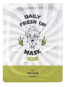Village 11 Factory Тканевая маска Daily Fresh Up Mask Aloe