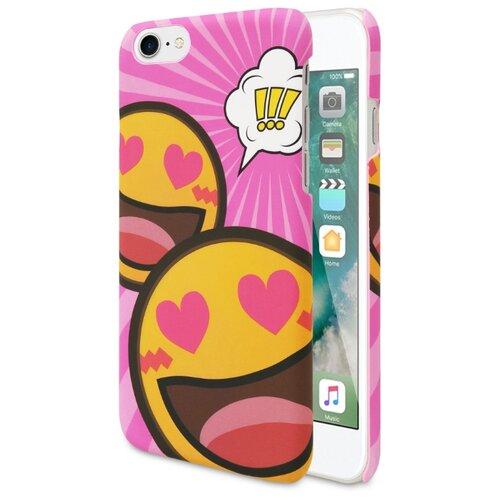 Купить Чехол ANYLIFE So pink для Apple iPhone7/iPhone 8 розовый/желтый