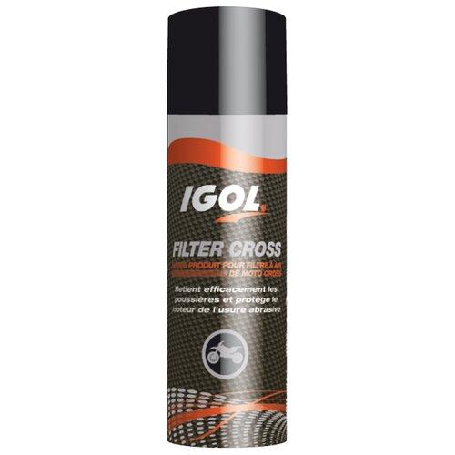 Спрей-смазка для защиты воздушных фильтров IGOL FILTER CROSS (0,5L)