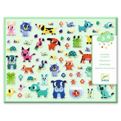 Купить DJECO Набор наклеек Мои маленькие друзья (09079), Наклейки
