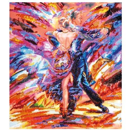 ABRIS ART Набор для вышивания бисером В ритме танго 30 х 32 см (АВ-450)