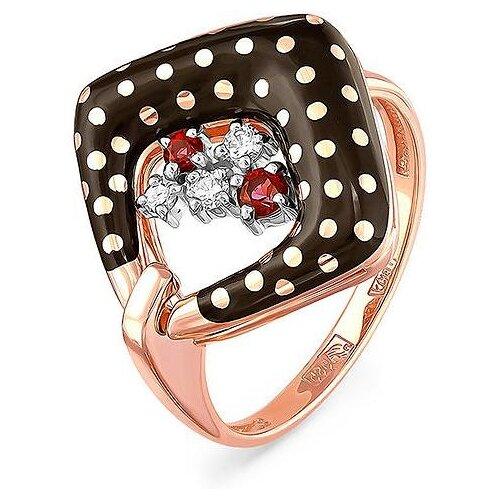 кольцо с бриллиантами топазами из красного золота KABAROVSKY Кольцо с топазами и бриллиантами из красного золота 11-0979-2502, размер 18