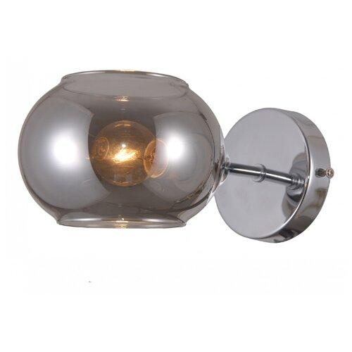 Настенный светильник Natali Kovaltseva 79016/1W Chrome, 40 Вт natali kovaltseva бра natali kovaltseva alps 11368 1w wenge венге