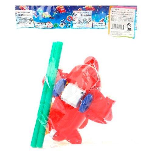 Каталка-игрушка S+S Toys Вертолёт (320) красный viking toys игрушка каталка панда