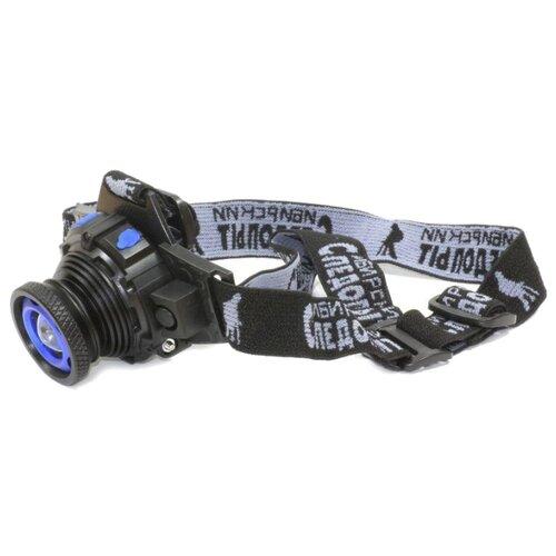 Налобный фонарь СЛЕДОПЫТ Вольт черный налобный фонарь fenix raptor hm65r