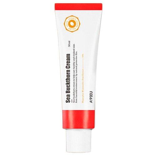 A'PIEU Sea Buckthorn Cream Крем для лица с экстрактом облепихи, 50 мл питательное масло с экстрактом облепихи sea buckthorn body oil 100мл