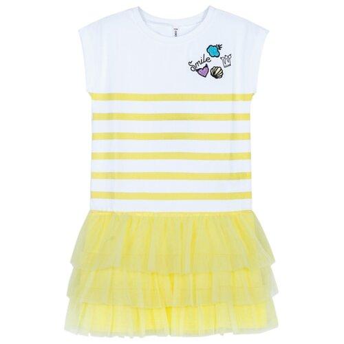 Платье COCCODRILLO размер 92, желтый