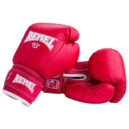 Боксерские перчатки REYVEL RV-101 красный 6 oz