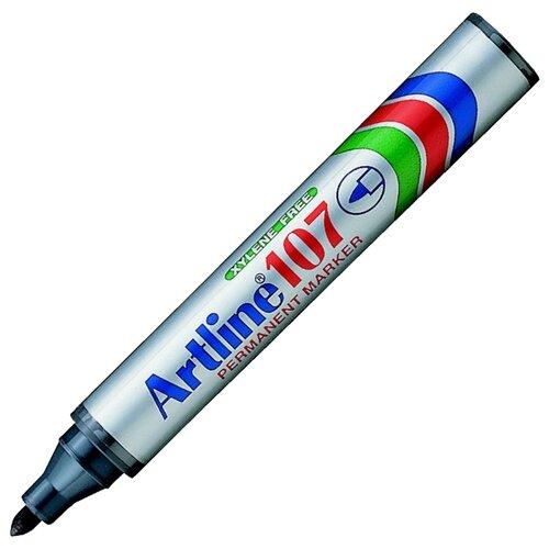 Купить Маркер перманентный, водостойкий Artline EK107, (1, 5 мм) чёрный, Маркеры