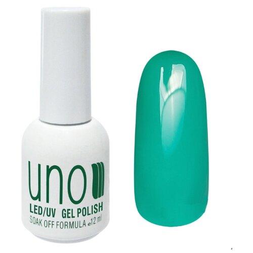 Купить Гель-лак для ногтей UNO Color Классические оттенки, 12 мл, оттенок 347 Тропический лес