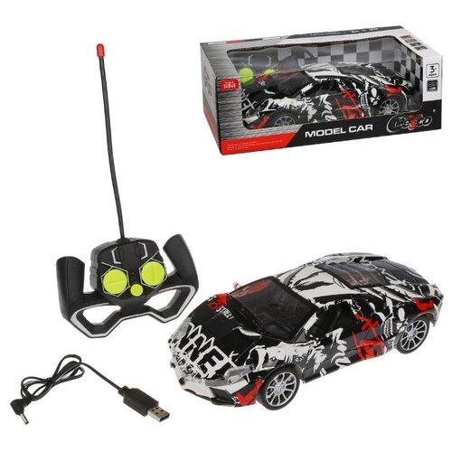 Купить Машина р/у Наша Игрушка 4 канала, свет, аккумулятор встроенный, USB шнур (729A-1), Наша игрушка, Радиоуправляемые игрушки