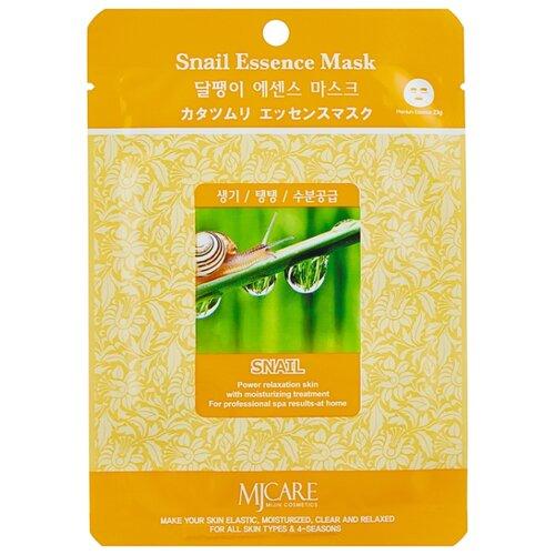 Купить MIJIN Cosmetics тканевая маска Snail Essence с экстрактом улитки, 23 г