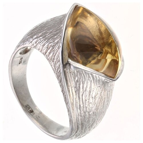 цена на JV Кольцо с кварцем из серебра 30-003-010-029-LQZ-WG, размер 17