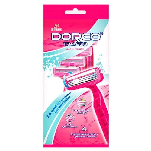 Dorco TR A200 Бритвенный станок упаковка из 4 шт