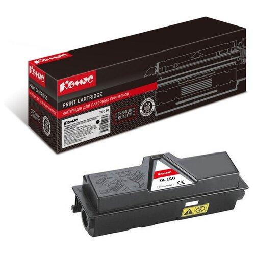 Фото - Картридж лазерный Комус TK-160 черный, для Kyocera FS-1120 картридж лазерный комус tk 580k черный для kyocera fs c5150dn
