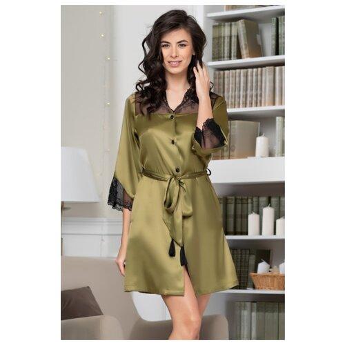 Халат MIA-AMORE размер M оливковый халат домашний mia mia mia mia mp002xw1aq47