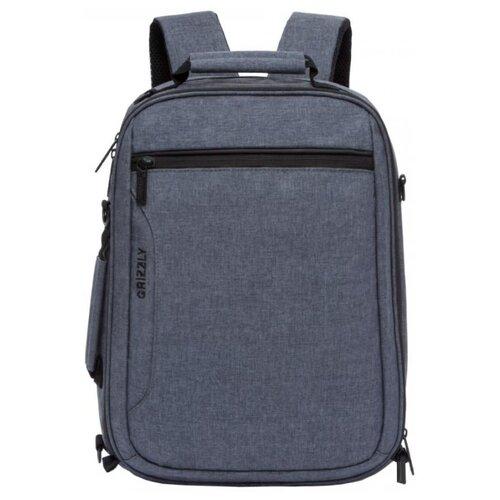Рюкзак Grizzly RU-805-1/3 15 (серый) рюкзак городской grizzly цвет серый 25 л ru 614 1 4
