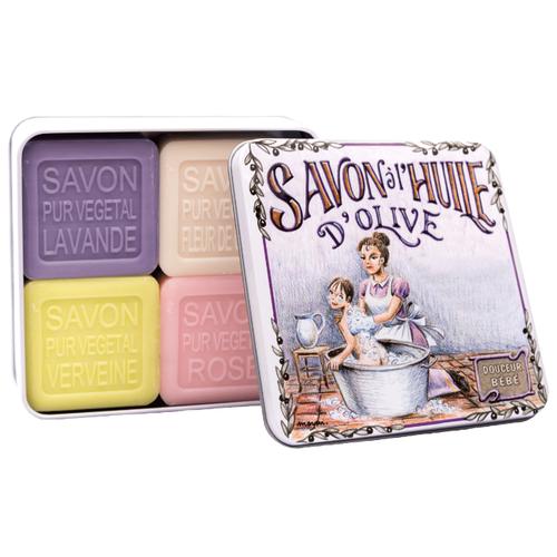 Купить Набор кускового мыла La Savonnerie de Nyons Le Bain, 100 г, 4 шт.