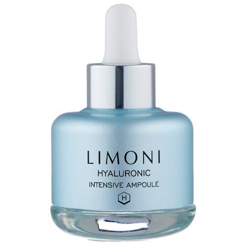 Limoni Hyaluronic Intensive Ampoule Сыворотка для лица, шеи и области декольте с гиалуроновой кислотой, 25 мл limoni snail repair intensive ampoule