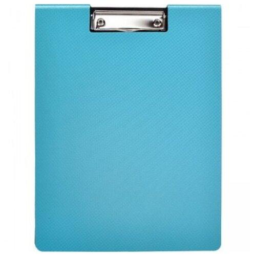Attache Папка-планшет с крышкой А4, пластик бирюзовый планшет