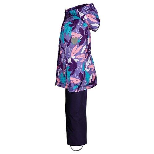 Комплект с полукомбинезоном Premont Парк Грос Морне SP71236 размер 110, фиолетовый комплект premont размер 58 фиолетовый