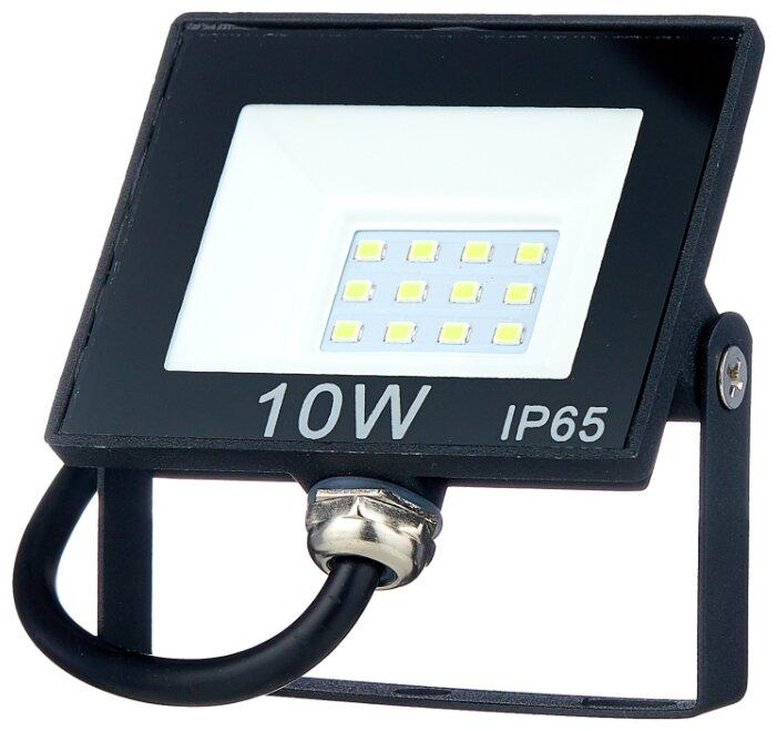 Прожектор светодиодный 10 Вт ОНЛАЙТ OFL-10-6K-BL-IP65-LED