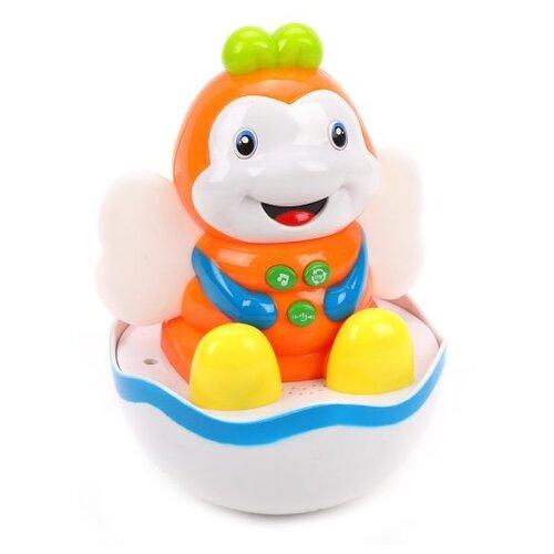 Развивающая игрушка Наша игрушка Пчелка 838-49 белый/оранжевый игрушка для ванны robofish роборыбка клоун цвет оранжевый белый
