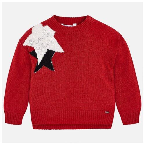 Джемпер Mayoral размер 104, красный, Свитеры и кардиганы  - купить со скидкой