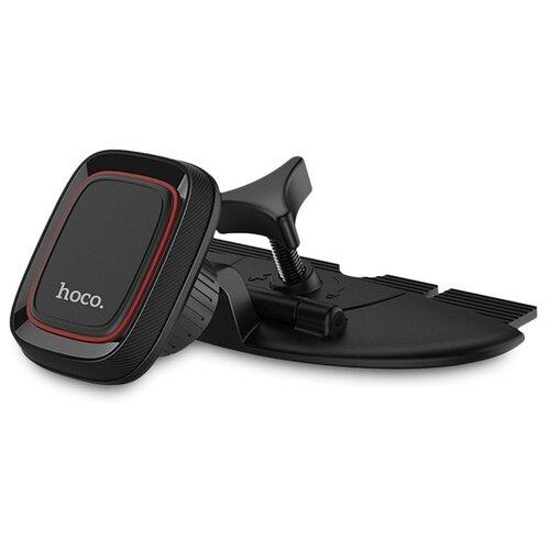 Автомобильный держатель для телефона в CD слот магнитный Hoco CA25 - Черный