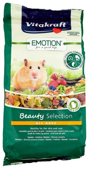 Корм для хомяков Vitakraft Emotion Beauty Selection