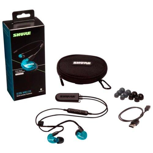 Беспроводные наушники Shure SE215 Wireless (BT2) blue