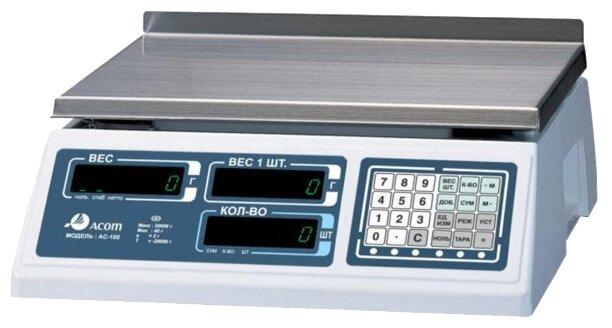 Счетные весы Acom AC-100-10