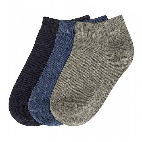 Купить Носки Oldos комплект из 4 пар, размер 23-25, темно-синий/темно-синий/джинс/серый