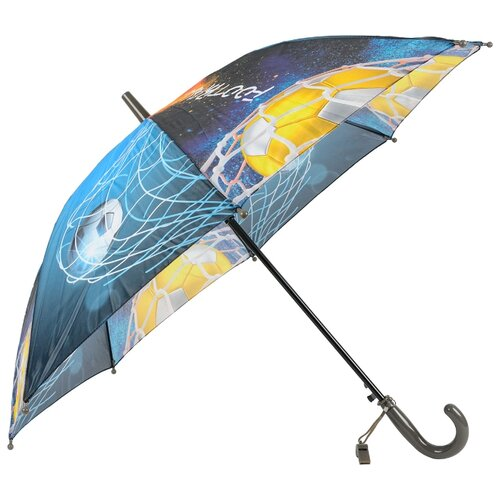 Зонт-трость полуавтомат детский Rain Lucky 915-3 LACN со свистком