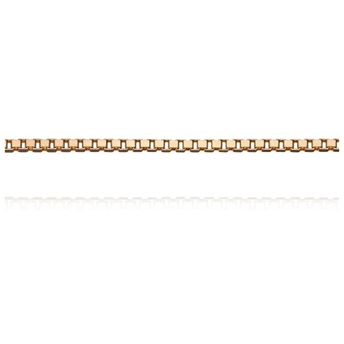АДАМАС Цепь из золота плетения Венециана ЦВ1П63А4-А51, 45 см