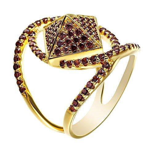 Фото - ELEMENT47 Широкое ювелирное кольцо из серебра 925 пробы с кубическим цирконием 20058R_KO_002_WG, размер 18 element47 широкое ювелирное кольцо из серебра 925 пробы с кубическим цирконием 05s2azr104804curi 001 wg размер 18