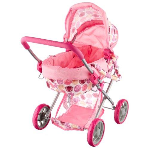 Купить Коляска-люлька Melobo / Melogo K0107 розовые, Коляски для кукол