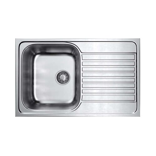 Врезная кухонная мойка 79 см OMOIKIRI Kashiogawa 79 IN нержавеющая сталь врезная кухонная мойка 79 см smeg sp791s 2 нержавеющая сталь матовая