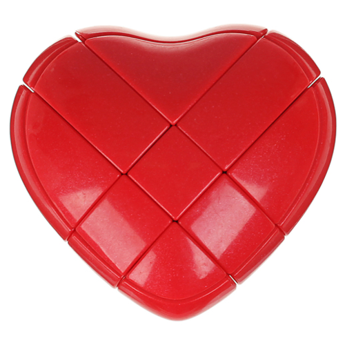 Головоломка 1 TOY Сердце (Т14213) красный головоломка сердце красное 90012
