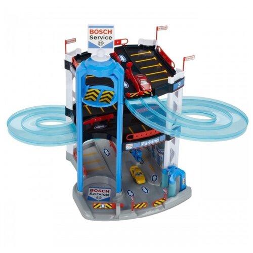 Купить Klein Парковка трехуровневая Bosch 2811 голубой/серый/черный, Детские парковки и гаражи